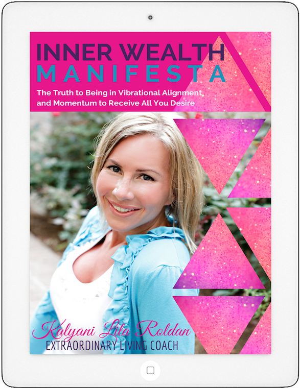 Inner Wealth Manifesta iPad Cover Aweber