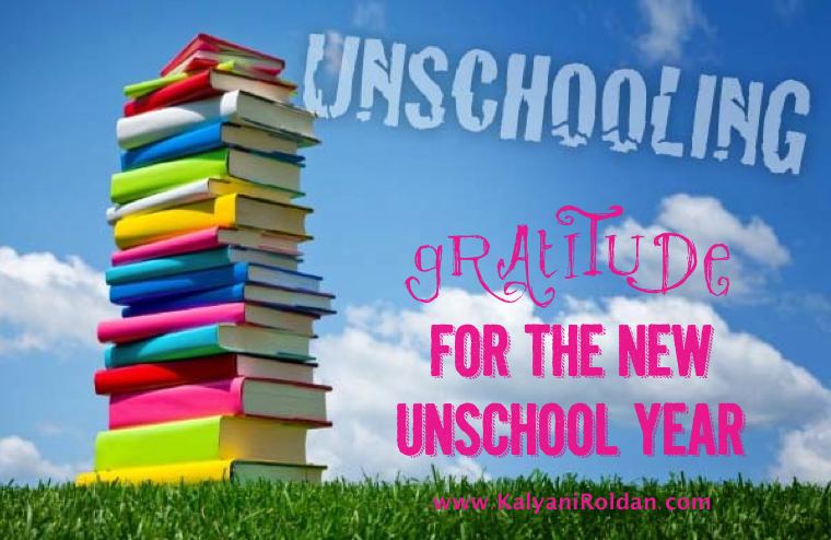 Gratitude for the New Unschool Year