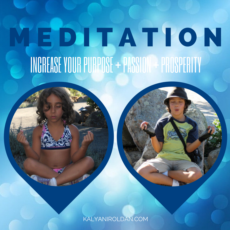 Meditation to Increase Your Purpose, Passion, Prosperity