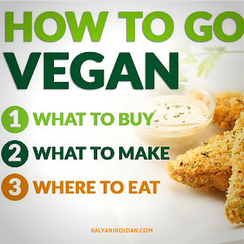 How to Go Vegan in 3 Easy Steps