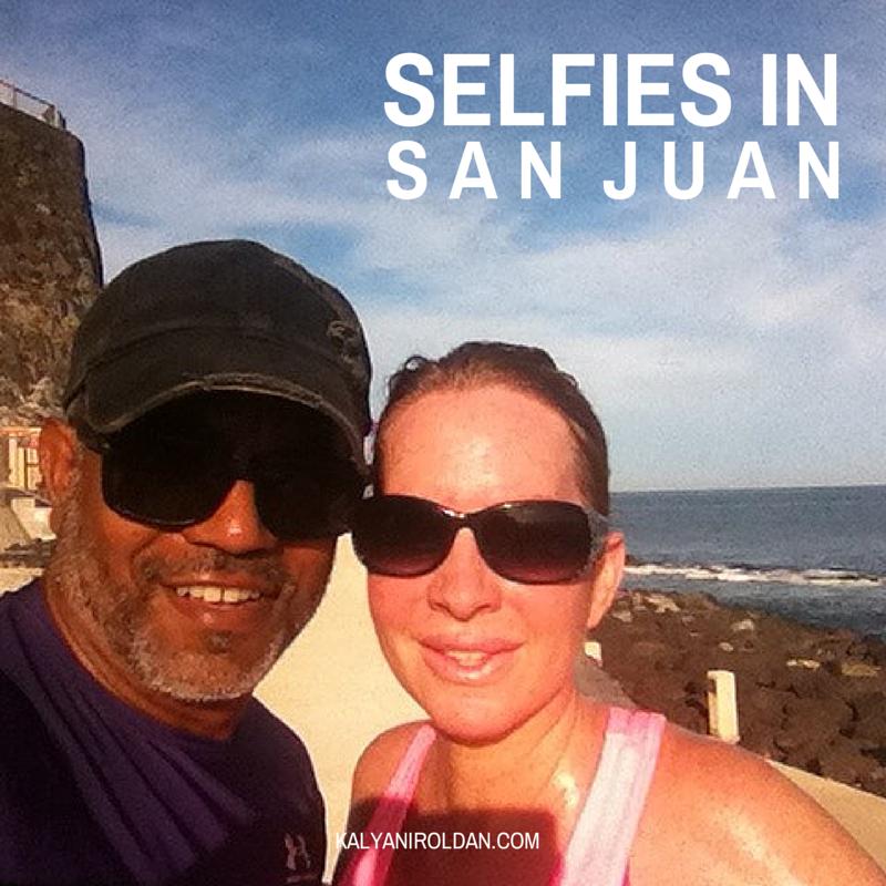Darsana & Kalyani Selfies in San Juan, Puerto Rico
